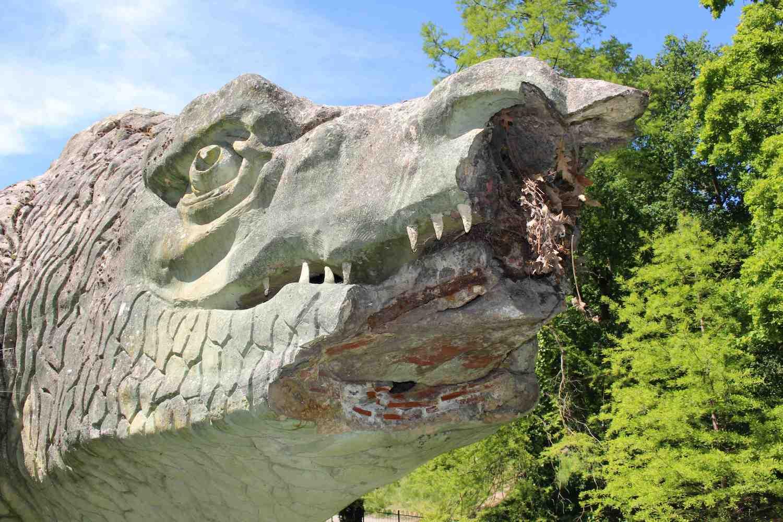 Megalosaur damage