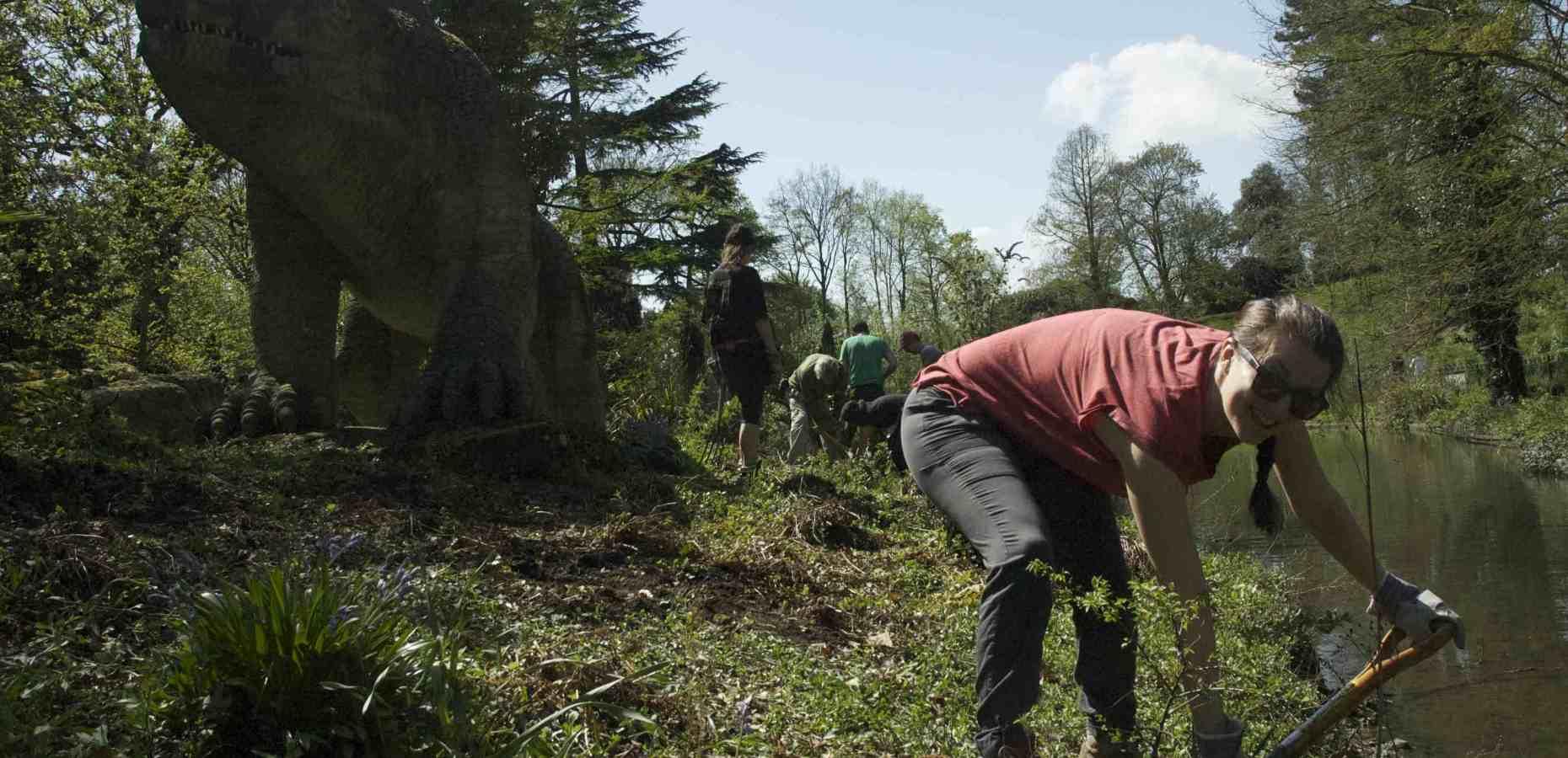Paleo Planting volunteers
