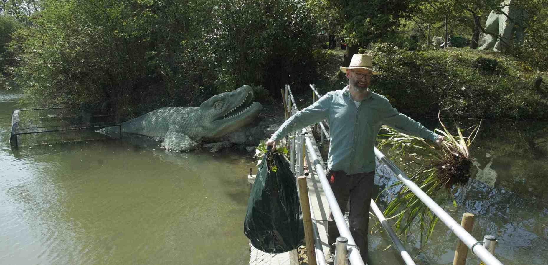 Mosasaur-bridge