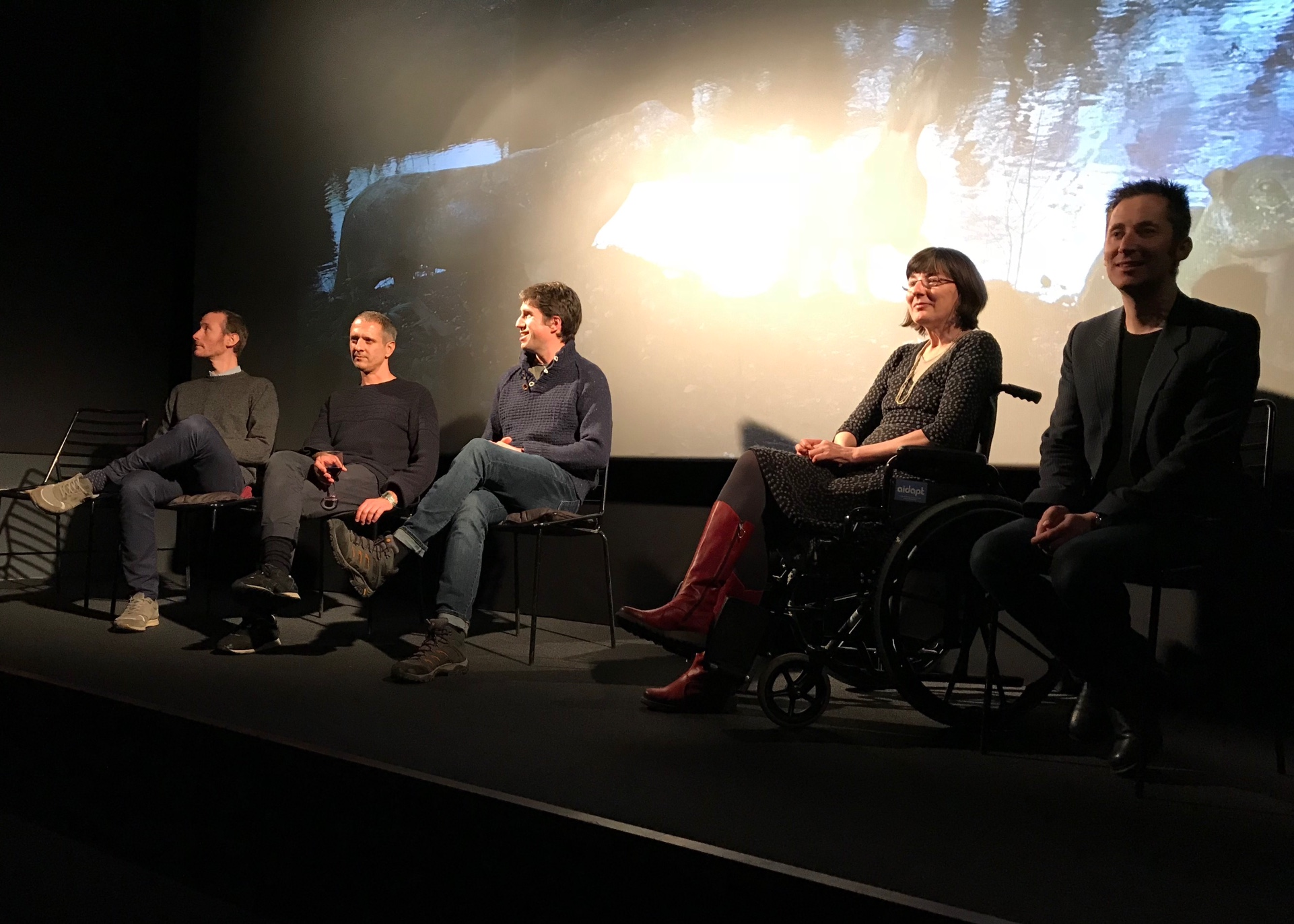 Film screening shot 2 – Q&A