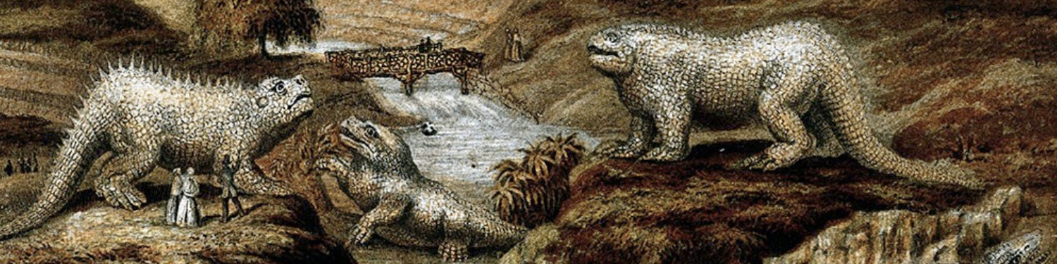 Baxter print of the dinosaurs